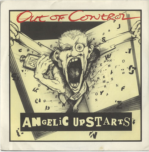 Angelic Upstarts - Out Of Control LP