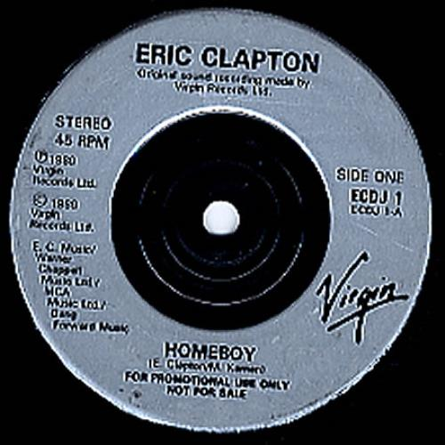 Clapton, Eric - Homeboy Record