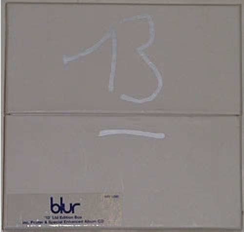 Blur - 13 - Thirteen - Enhanced Limited Edition Box
