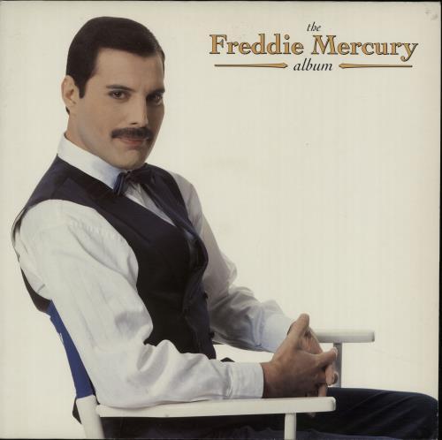 Mercury, Freddie - The Freddie Mercury Album - Ex