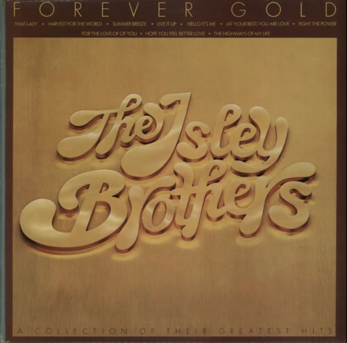 Isley Brothers - Forever Gold Record