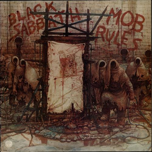 Black Sabbath - Mob Rules Single