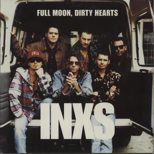 Inxs - Full Moon, Dirty Hearts - Ex