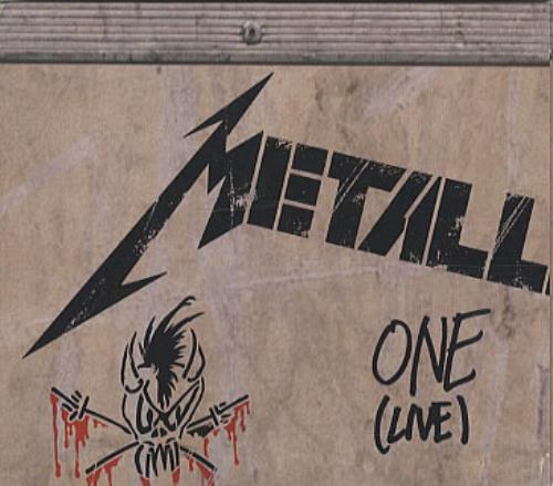 Metallica - One - 4-track Maxi Digipak Picture Sleeve