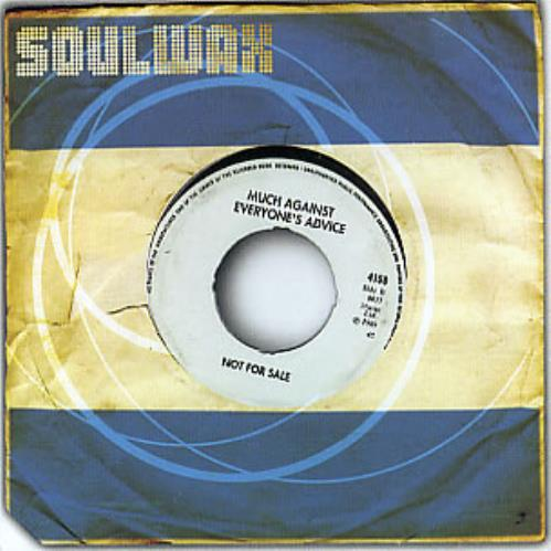 Soulwax - Much Against Everyone's Advice Single
