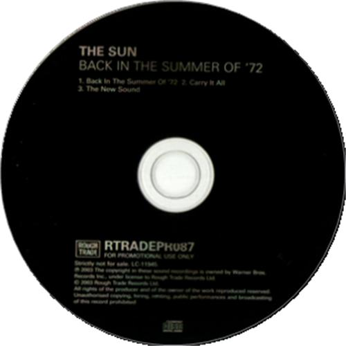 Sun - Back In The Summer Of '72 Album