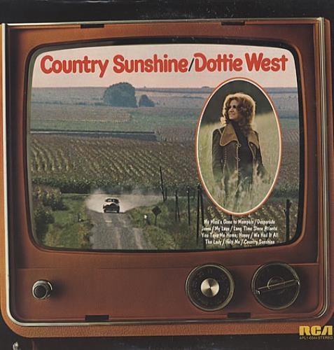West, Dottie - Country Sunshine LP