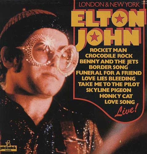 John, Elton - London & New York Album