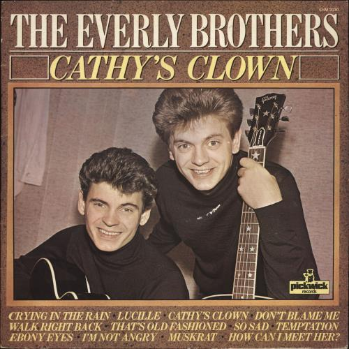 Everly Brothers - Cathy's Clown Album