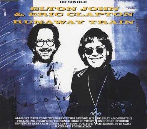 John, Elton - Runaway Train LP