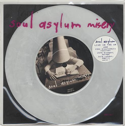 Soul Asylum - Misery - White Vinyl