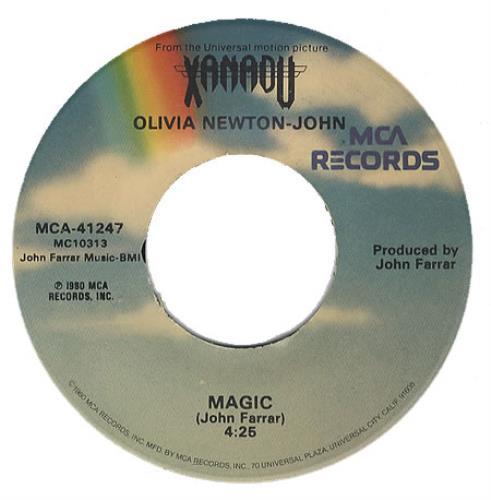 Newton John, Olivia - Magic - Both Label Designs