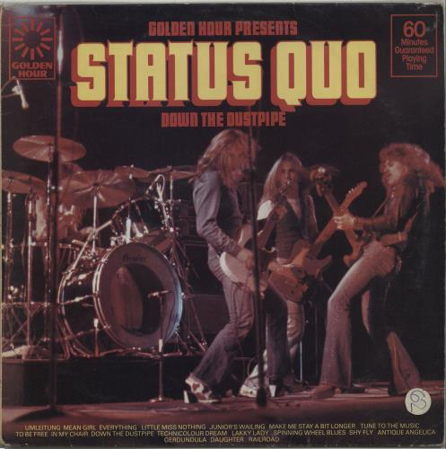 Status Quo - Down The Dustpipe Single