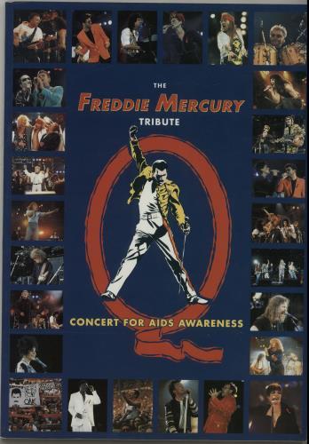 Mercury, Freddie - The Freddie Mercury Tribute - Concert Souvenir