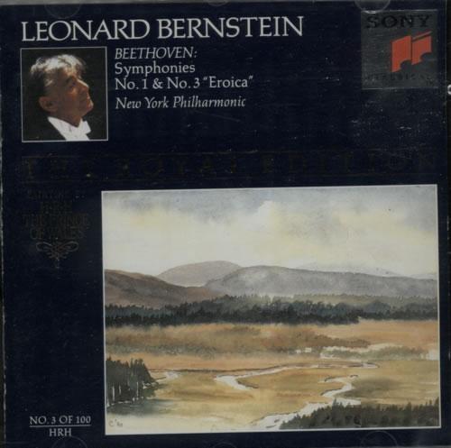 Beethoven, Ludwig Van - Symphonies No. 1 & No. 3 'eroica'
