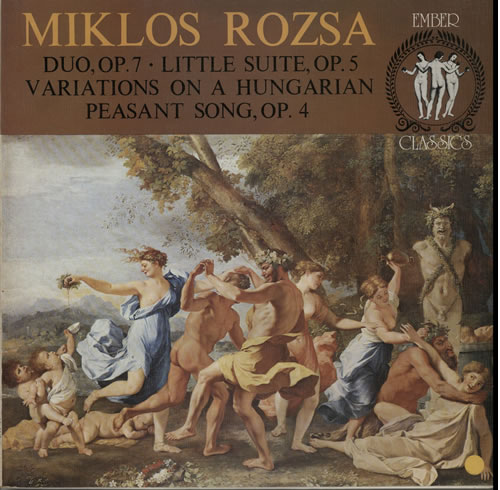 Duo, Variations On A Hungarian Peasant Song And Little Suite