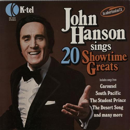 Hanson, John - Sings 20 Showtime Greats