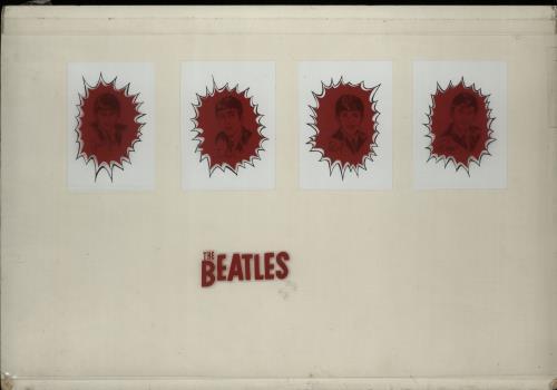 Beatles - 1964 Dairy Queen Glass Artwork