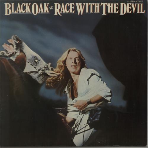 Black Oak Arkansas - Race With The Devil LP