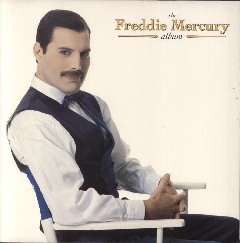 Mercury, Freddie - The Freddie Mercury Album Record