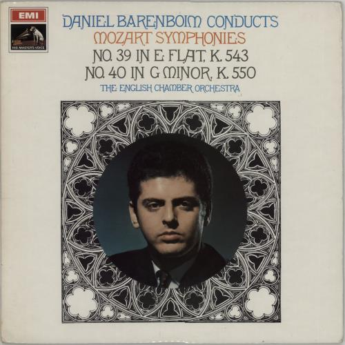 Barenboim, Daniel - Mozart Symphonies Nos. 39 & 40 - S/c
