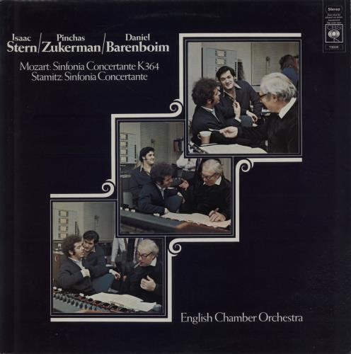 Barenboim, Daniel - Mozart: Sinfonia Concertante In E Flat Major
