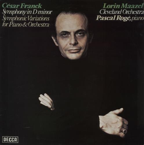 Franck, César - Symphony In D Minor / Symphonic Variations For Piano & Orchestra