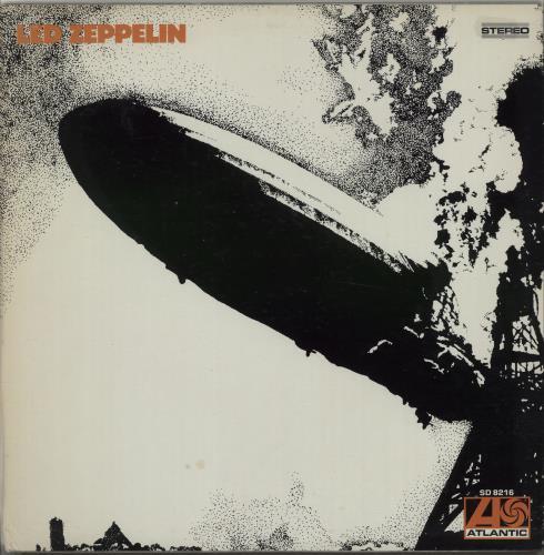 Led Zeppelin - Led Zeppelin - 1841 Broadway - Vg