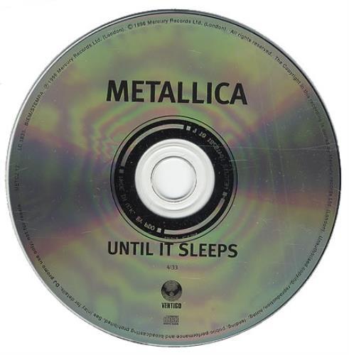 Metallica - Until It Sleeps Single