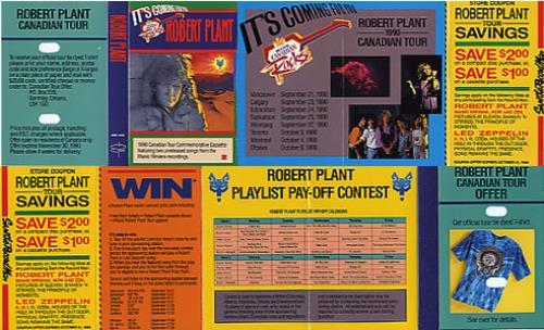 Canadian Tour 1990
