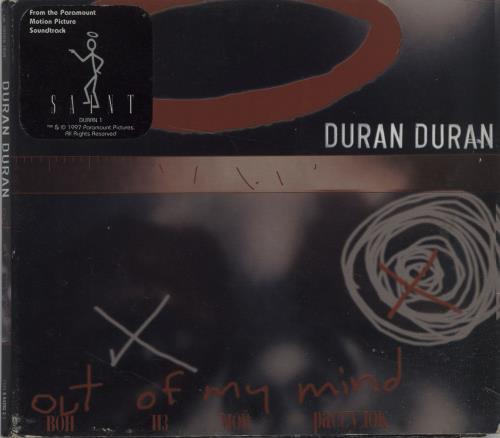 Duran Duran - Out Of My Mind - Card Sleeve