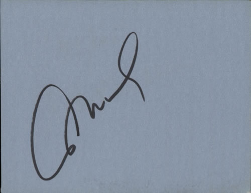 DI MEOLA, AL - Page From An Autograph Book - Autres