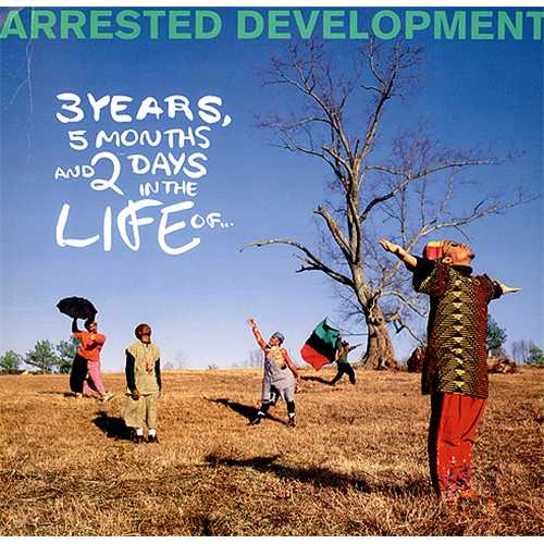 ARRESTED DEVELOPMENT - 3 Years, 5 Months & 2 Days In The Life Of... - Poster / Affiche