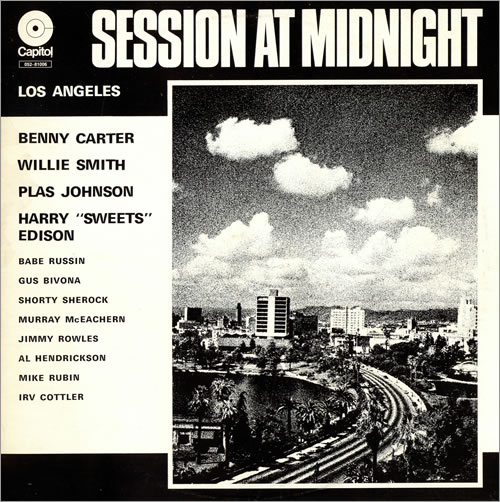 CARTER, BENNY - Session At Midnight - Maxi 33T