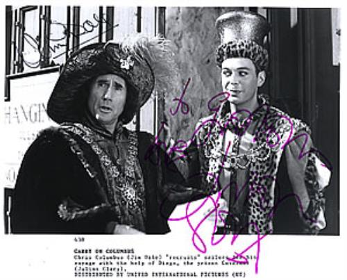 CARRY ON - Carry On Columbus - Autographed - Autres