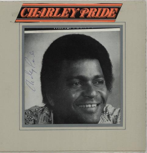PRIDE, CHARLEY - Autographed Picture - Autres