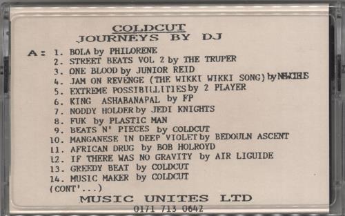 COLDCUT - Journeys By DJ - Autres