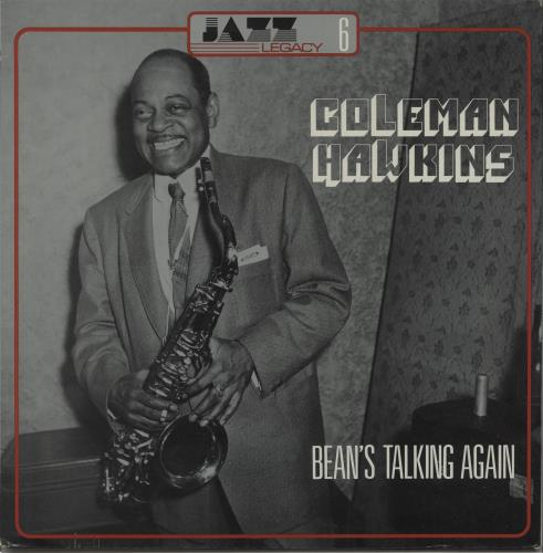 HAWKINS, COLEMAN - Bean's Talking Again - Maxi 33T