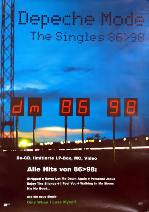 mode singles Depeche mode discography jump to  13 video albums, 53 singles and 70 music videos the band's music has been released on several labels,.