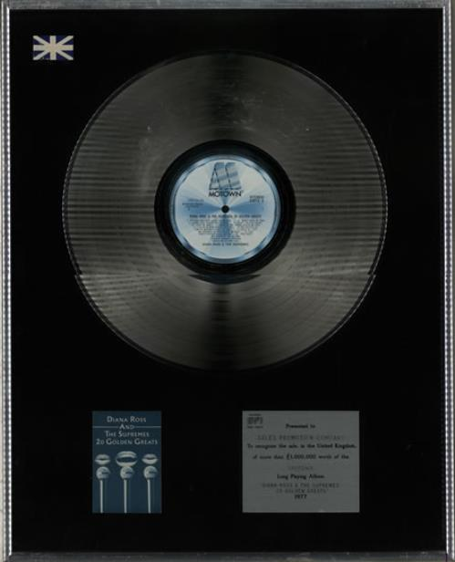 DIANA ROSS & THE SUPREMES - 20 Golden Greats - Platinum - Autres