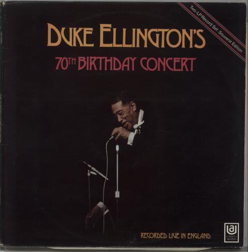 ELLINGTON, DUKE - Duke Ellington's 70th Birthday Concert - Maxi 33T