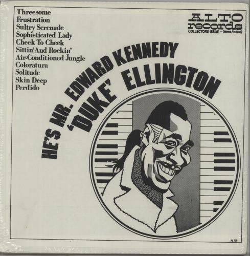 ELLINGTON, DUKE - He's Mr. Edward Kennedy - Sealed - Maxi 33T