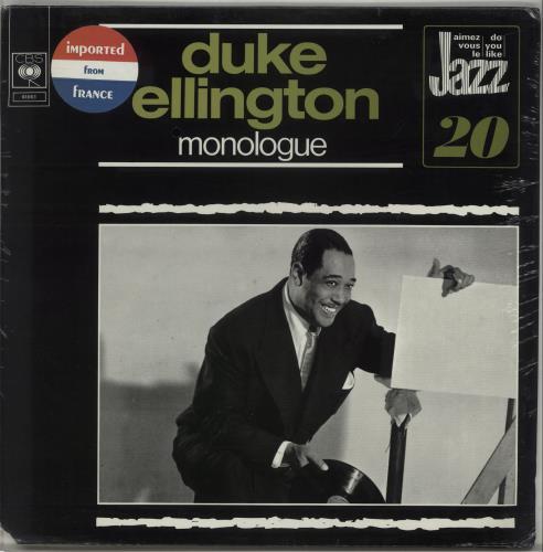 ELLINGTON, DUKE - Monologue - Sealed - Maxi 33T