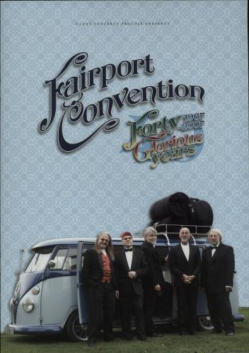 FAIRPORT CONVENTION - Forty Glorious Years + Ticket Stub - Autres