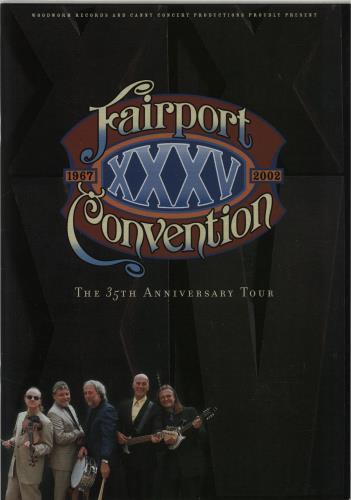 FAIRPORT CONVENTION - The 35th Anniversary Tour - Autres