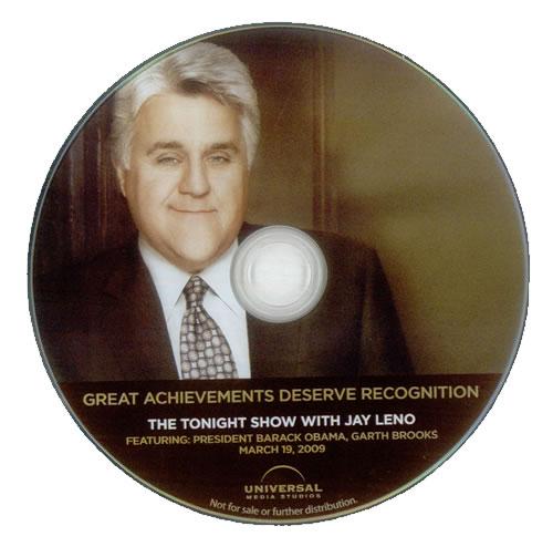 BROOKS, GARTH - The Tonight Show With Jay Leno - DVD
