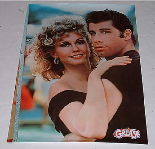 GREASE - Olivia & John - Poster / Affiche
