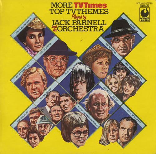 PARNELL, JACK - More TV Times Top TV Themes - Maxi 33T