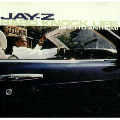 The blueprint 2001 the evolution of jay zs cover art from hes spotted in the same car for the single artwork of hard knock life malvernweather Images