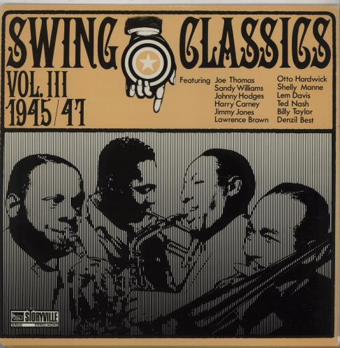THOMAS, JOE & MCSHANN, JAY - Swing Classics Vol. III 1945/47- Giants Of Small Band Swing, Vol. 3 - Maxi 33T